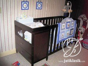 Box Bayi Minimalis Dresser Combo