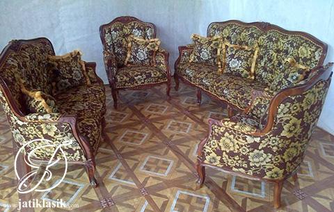 Jual Kursi Sofa Tamu Monako Kecil