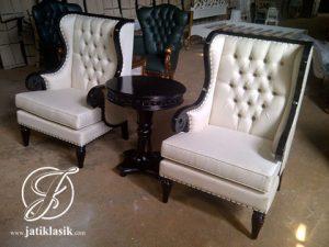 Set Kursi Sofa Jati Klasik Entong