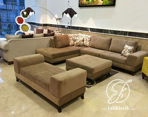 Jual sofa tamu l cordoba kayu jati jati klasik for Sofa ideal cordoba