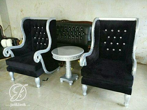 Kursi Sofa Wing Sayap Pendek