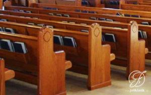 Bangku Gereja Panjang Minimalis Jati Mewah