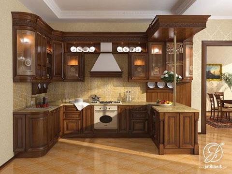 Jual Kitchen Set Jati Klasik Minimalis Terbaru Jati Klasik