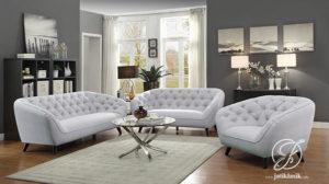 Kursi Tamu Sofa Minimalis Jati Coaster Modern