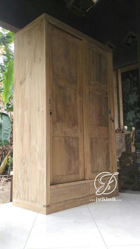 Mentahan Lemari Minimalis 2 Pintu