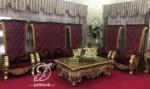 Sofa Tamu Mewah Jati Ukir Bellagio Modern