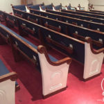 Bangku Gereja Minimalis Model Eropa Mewah