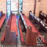 Bangku Gereja Minimalis Tempat Berlutut Lipat
