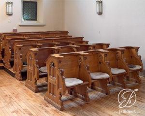 Bangku Kursi Gereja Jati Ukir Jepara