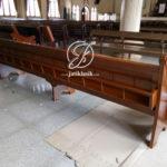 Bangku Kursi Gereja Jati Minimalis Modern