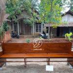 Bangku Kursi Gereja Protestan Kayu Jati
