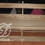 Bangku Panjang Gereja Sederhana Minimalis Kayu Jati